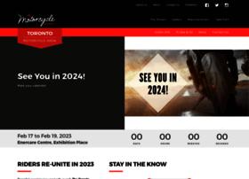 Torontomotorcycleshow.ca thumbnail