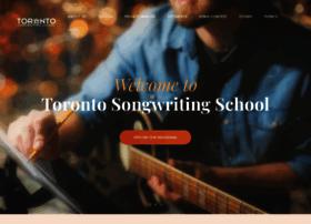 Torontosongwritingschool.com thumbnail