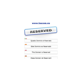 Toscom.eu thumbnail