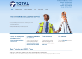 Total-buildingcontrol.co.uk thumbnail