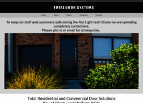 Totaldoorsystems.co.nz thumbnail