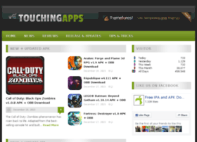 Touchingapps.com thumbnail