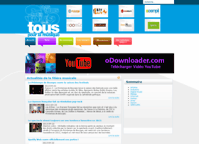 Touspourlamusique.org thumbnail