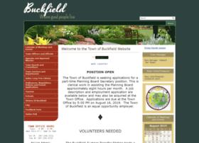 Townofbuckfield.com thumbnail