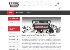 Toyota Parts Dealer >> Toyota Parts Dealer Com At Wi Genuine Oem Toyota Parts Toyota Car
