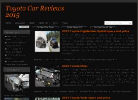 Toyotacarreviews.com thumbnail