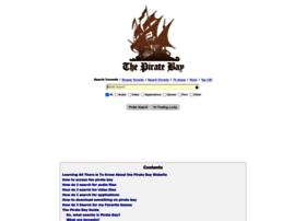 Tpbpirateproxy.org thumbnail