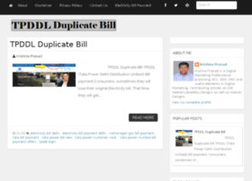 Tpddlduplicatebill.in thumbnail