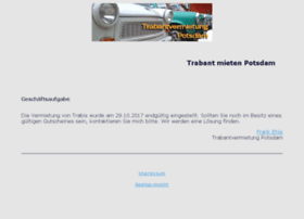 Trabantvermietung-potsdam.de thumbnail