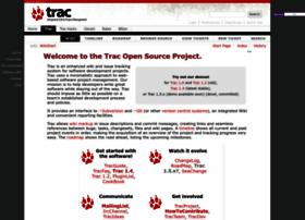 Trac.edgewall.org thumbnail