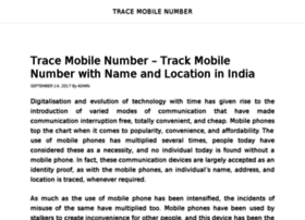 Tracemobilenumbers.org thumbnail