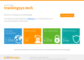 Trackingsys.tech thumbnail