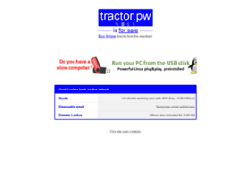 Tractor.pw thumbnail