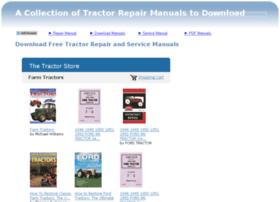 Tractorrepairmanual.com thumbnail