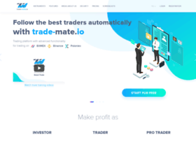 Trade-mate.io thumbnail
