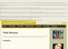 Tradedirectory.biz thumbnail