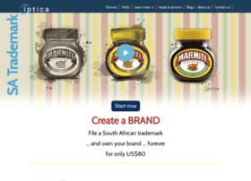 Trademarkregister.co.za thumbnail