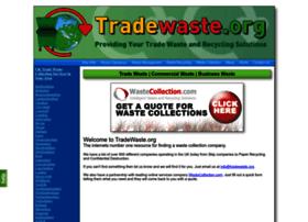Tradewaste.org thumbnail