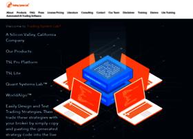 Tradingsystemlab.com thumbnail
