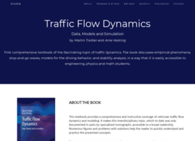 Traffic-flow-dynamics.org thumbnail