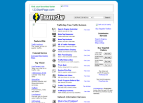 Trafficzap.com thumbnail