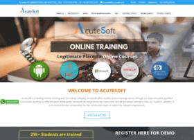 Training.acutesoft.com thumbnail