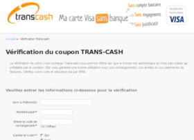 Transcash-verification-coupons.fr thumbnail
