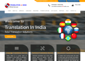 Translationinindia.com thumbnail