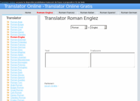 Translator roman englez