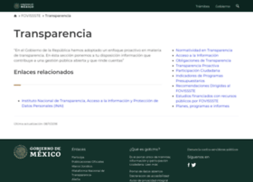 Transparencia.fovissste.gob.mx thumbnail