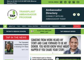 Transplantambassadors.ca thumbnail