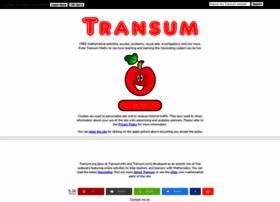 Transum.org thumbnail