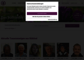Trauerhilfe It.Trauerhilfe It At Wi Trauerhilfe It Das Sudtiroler Gedenkportal