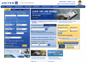 united airline ticket reservation