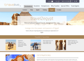 Travel2egypt.com thumbnail