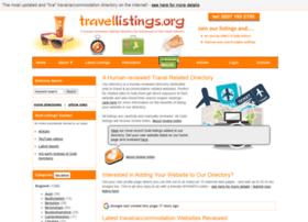 Travellistings.org thumbnail