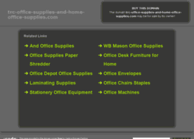 Trc-office-supplies-and-home-office-supplies.com thumbnail
