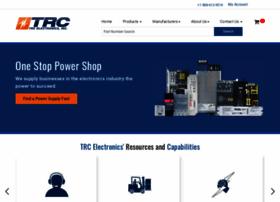 Trcelectronics.com thumbnail