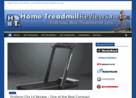 Treadmillreview.net thumbnail
