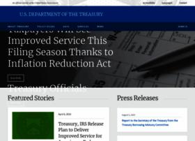 Treasury.gov thumbnail