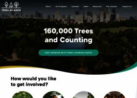 Treesatlanta.org thumbnail