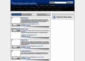 Trendybookmarks.info thumbnail