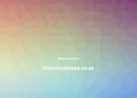 Triathlonplussa.co.za thumbnail