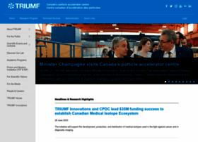 Triumf.ca thumbnail