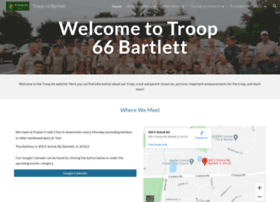 Troop66bartlett.org thumbnail