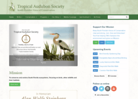 Tropicalaudubon.org thumbnail