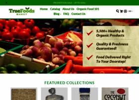 Truefoodsmarket.com thumbnail