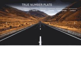 Truenumberplate.in thumbnail