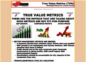 Truevaluemetrics.org thumbnail