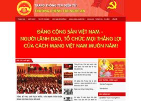 Truongchinhtrina.gov.vn thumbnail